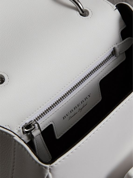 The Small DK88 Top Handle Bag in Chalk White - Women | Burberry - cell image 3