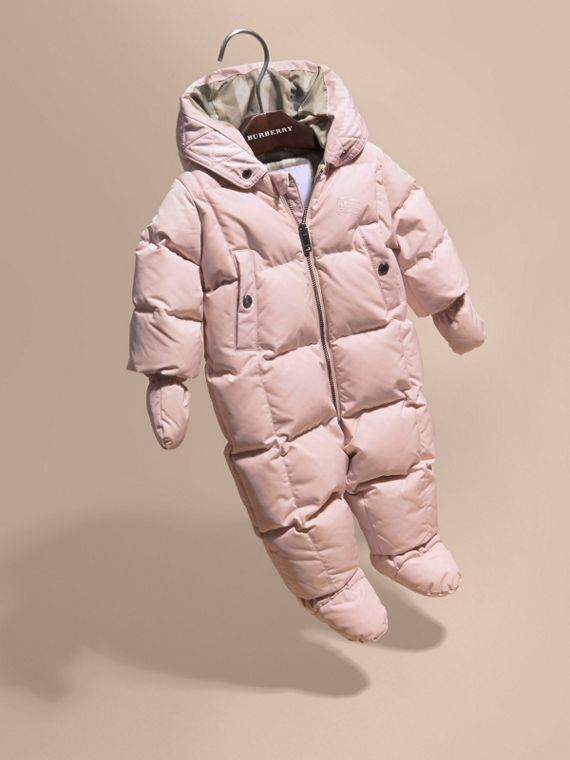 Powder pink Down-filled Puffer Suit Powder Pink - cell image 2