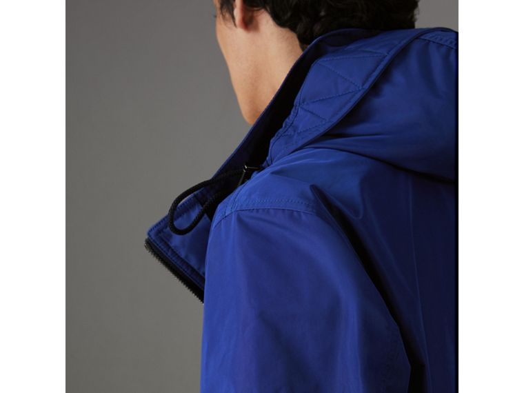 Packaway Hood Showerproof Jacket in Jet Blue - Men | Burberry Hong Kong - cell image 1