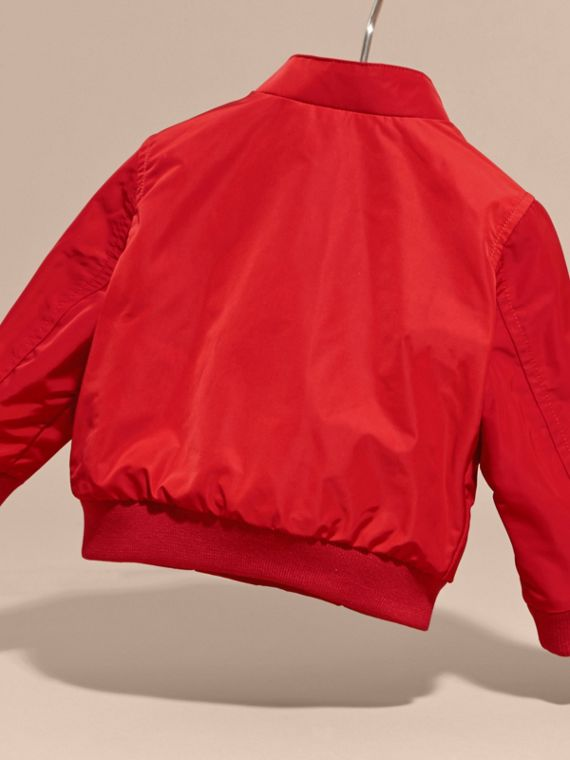 Technical Packaway Jacket in Military Red | Burberry - cell image 3