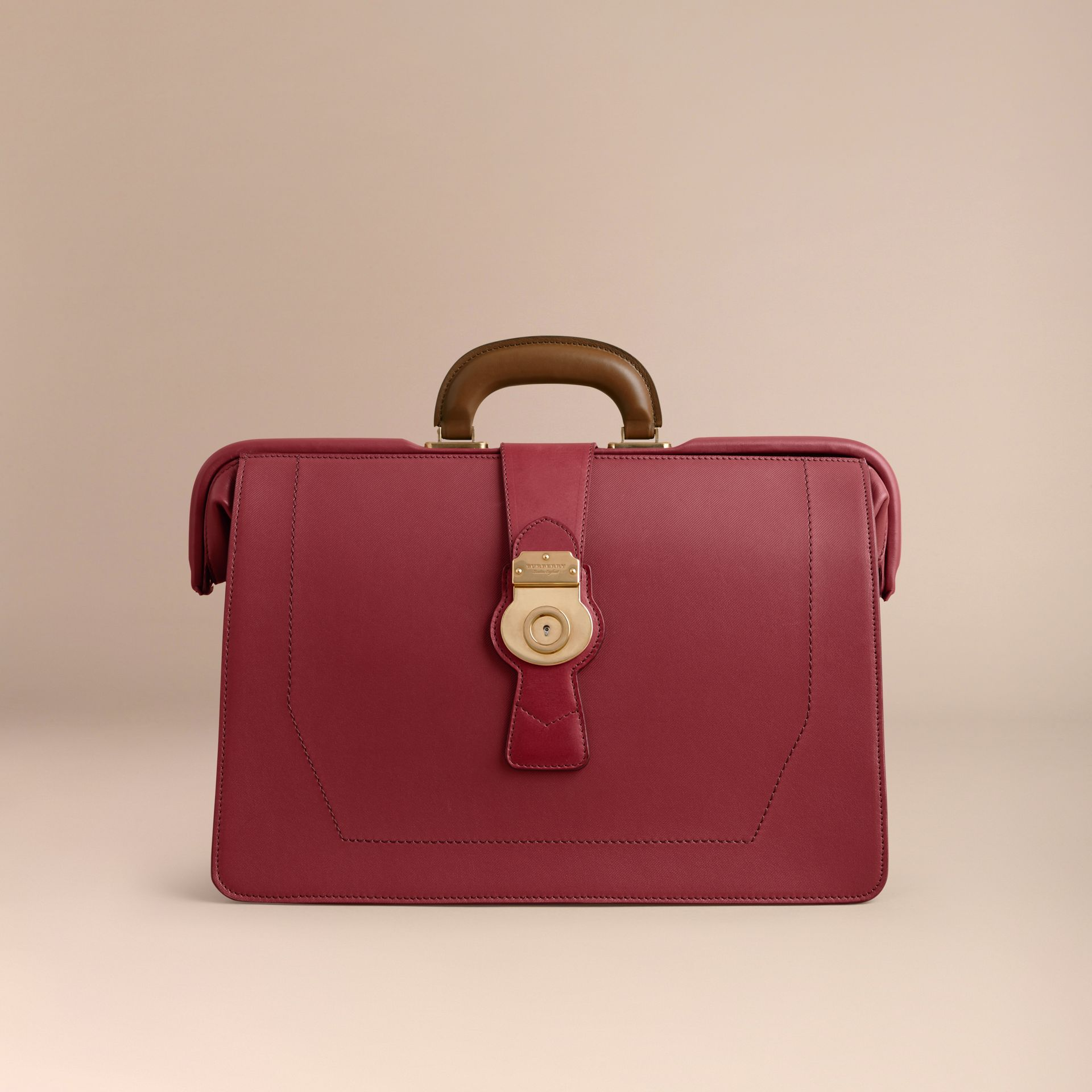 The DK88 Doctor's Bag in Antique Red - Men | Burberry - gallery image 6