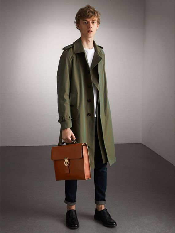 The Large DK88 Document Case in Tan - Men | Burberry - cell image 2