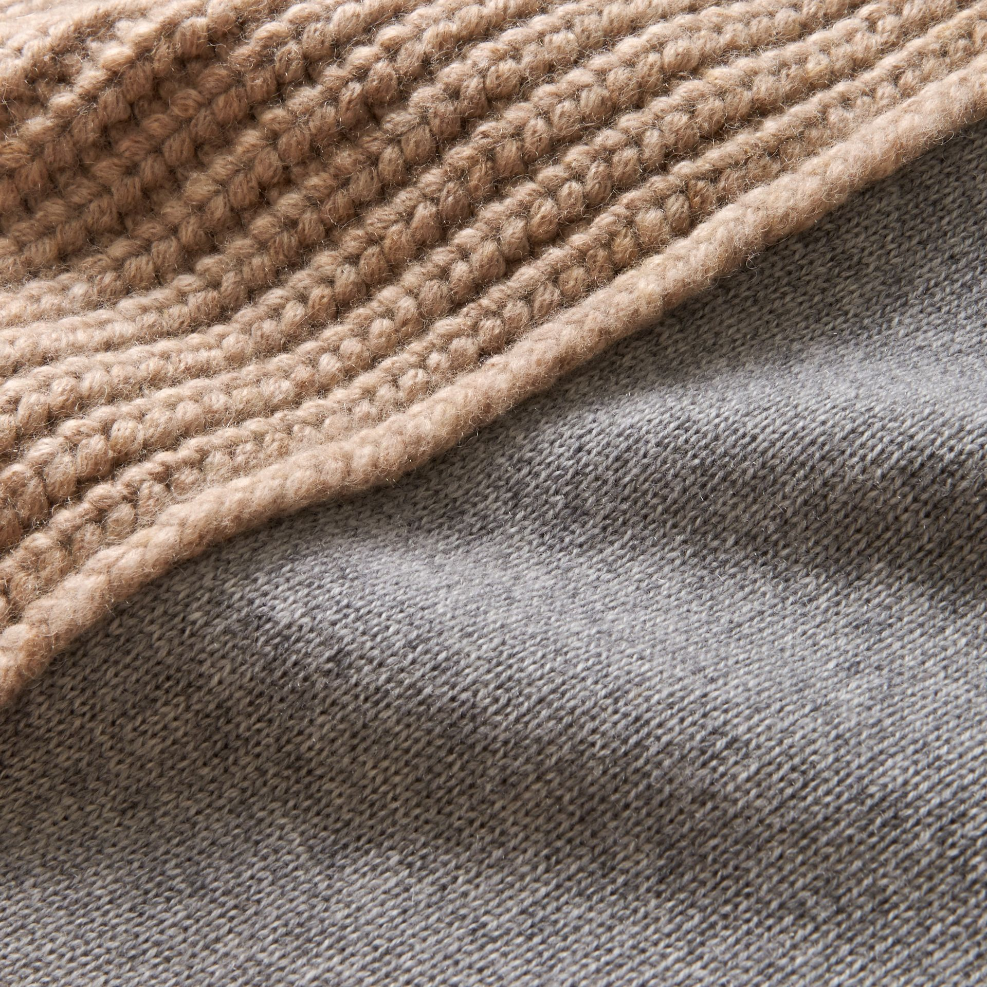 Panelled Cashmere Fisherman Sweater - Men | Burberry - gallery image 2