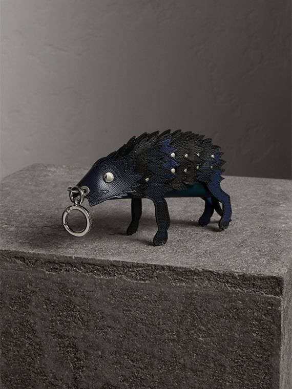 The Wolf - Trousse in pelle - Uomo | Burberry