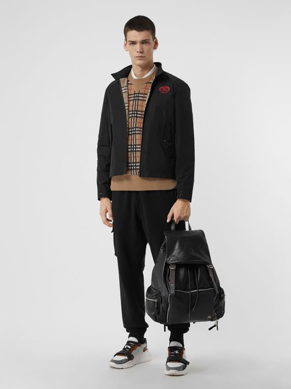 Zaino The Rucksack extra large in nappa (Nero) - Uomo | Burberry - cell image 2