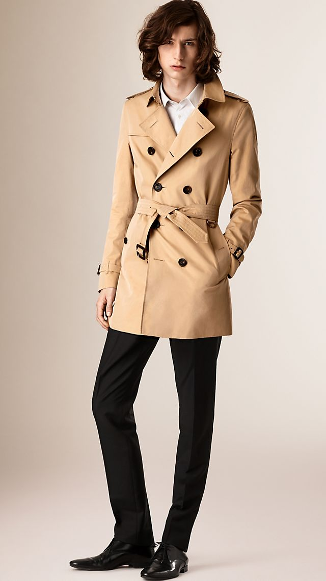 The Chelsea Mid-length Heritage Trench Coat Honey