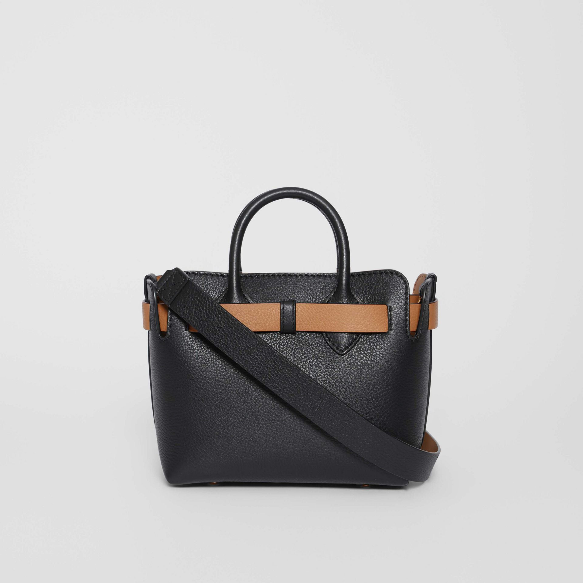 Borsa The Belt mini in pelle con tre borchie (Nero) - Donna | Burberry - immagine della galleria 7