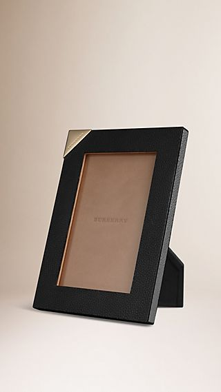 Small Grainy Leather Picture Frame