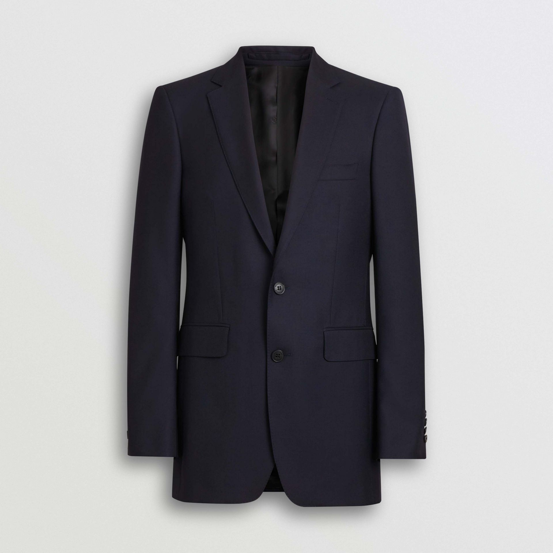 Classic Fit Wool Twill Suit in Navy - Men | Burberry - gallery image 3