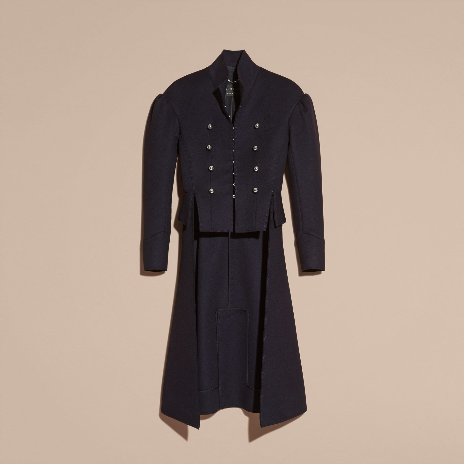 Dark navy The Military Tailcoat - gallery image 4