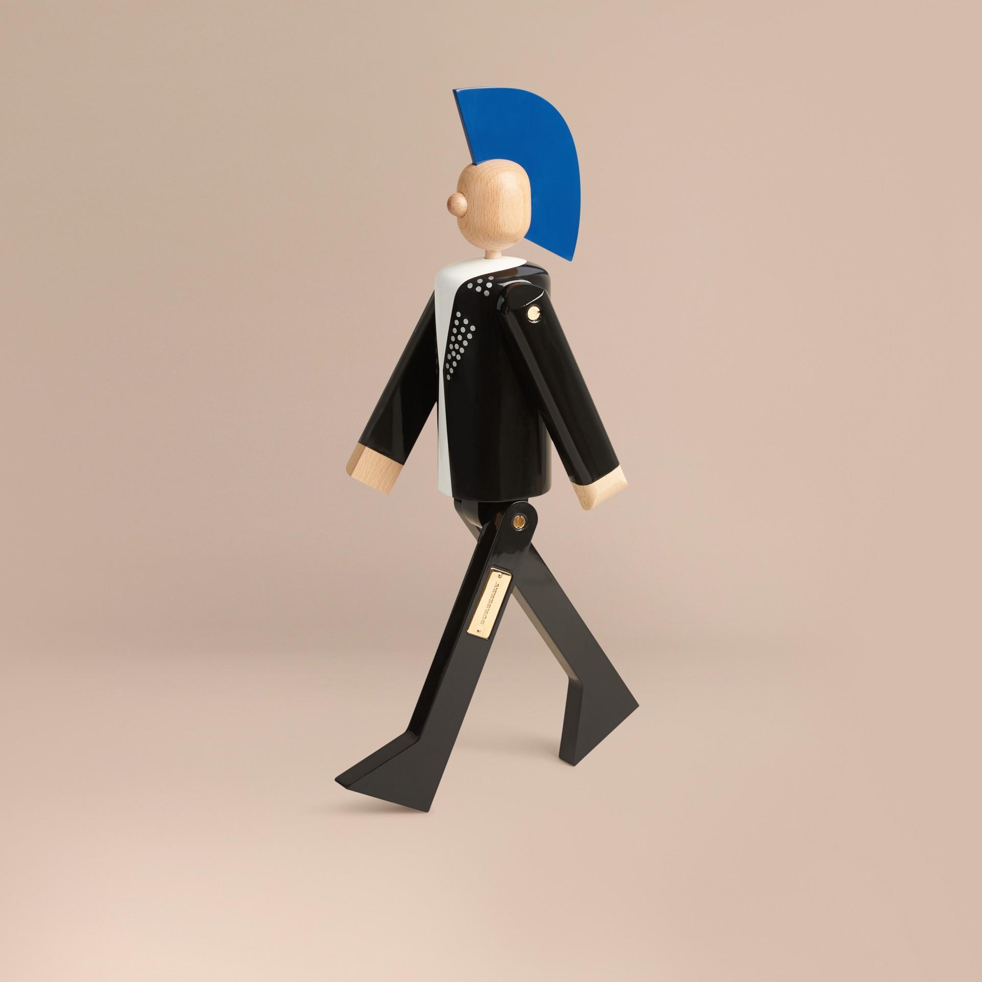 Multicolore Marionnette en bois à l'effigie du Punk en édition limitée - photo de la galerie 1