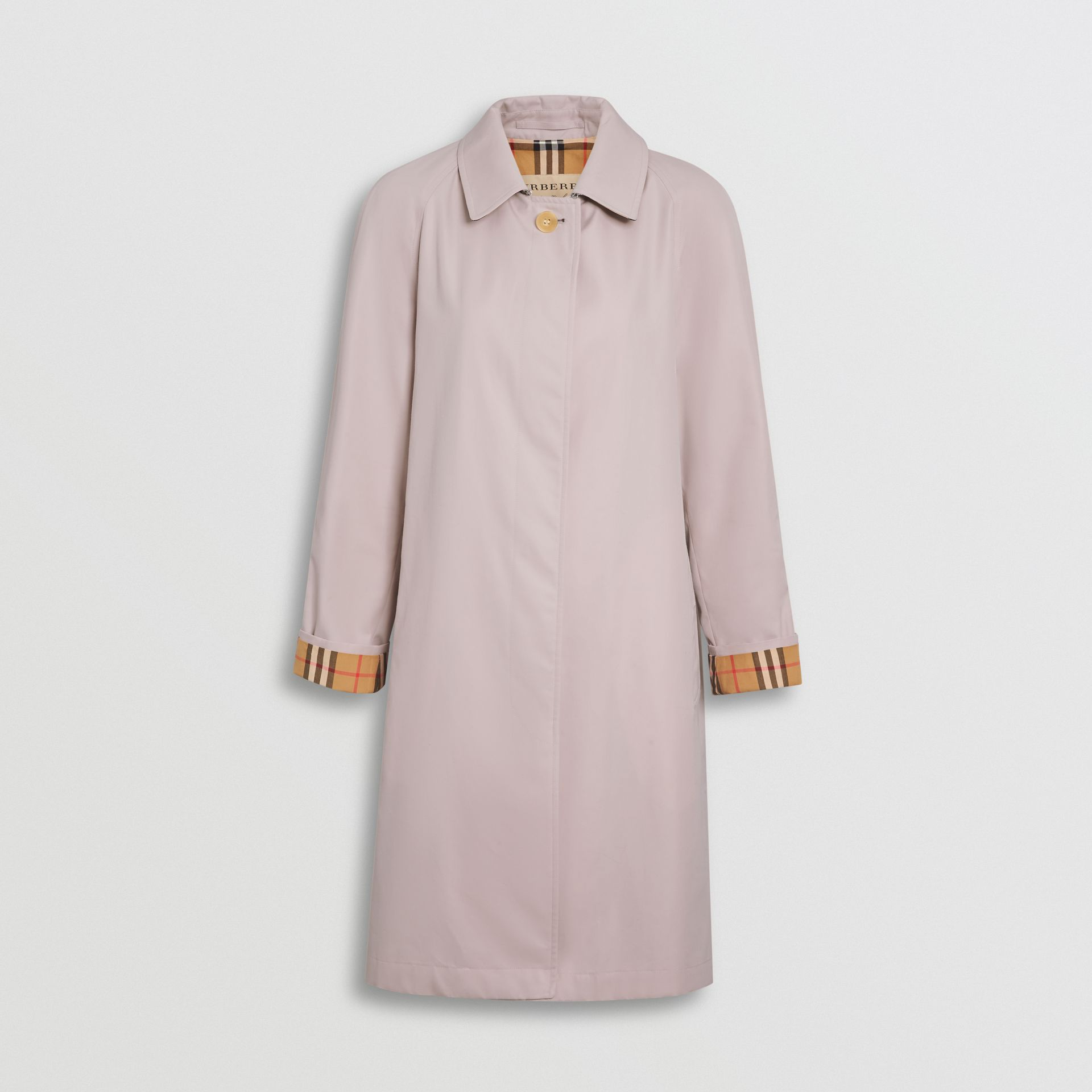 The Camden Car Coat in Ice Pink - Women | Burberry United Kingdom - gallery image 3