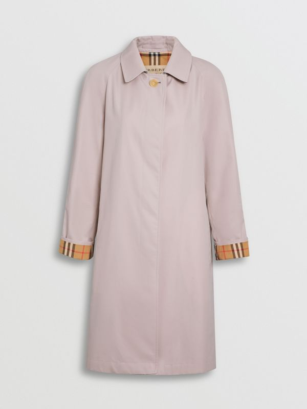 The Camden Car Coat in Ice Pink - Women | Burberry United Kingdom - cell image 3