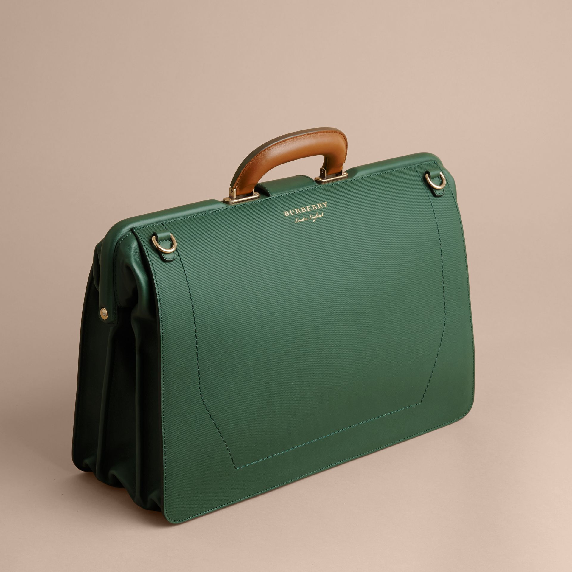 The DK88 Doctor's Bag in Dark Forest Green - Men | Burberry United States - gallery image 3