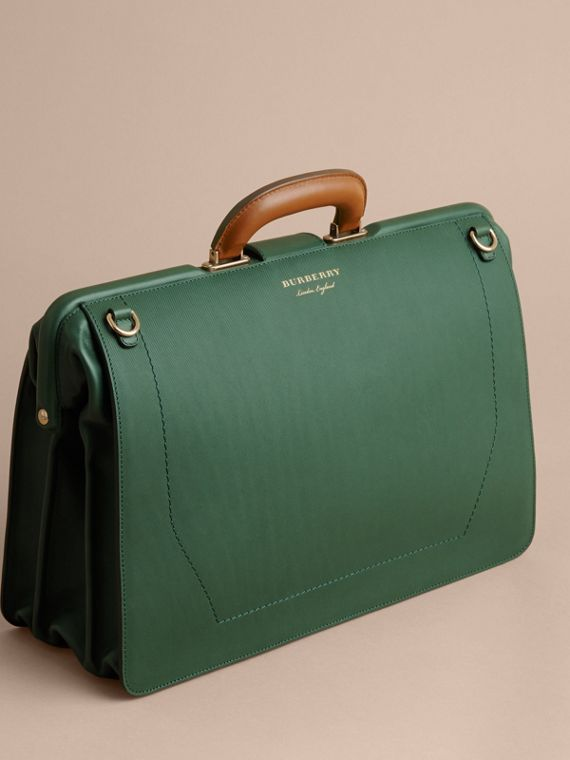The DK88 Doctor's Bag in Dark Forest Green - Men | Burberry United States - cell image 2
