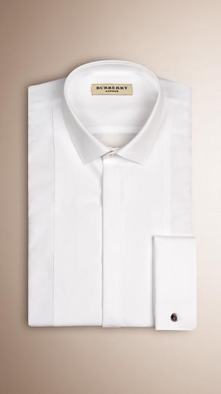 Modern Fit Double-cuff Cotton Dress Shirt