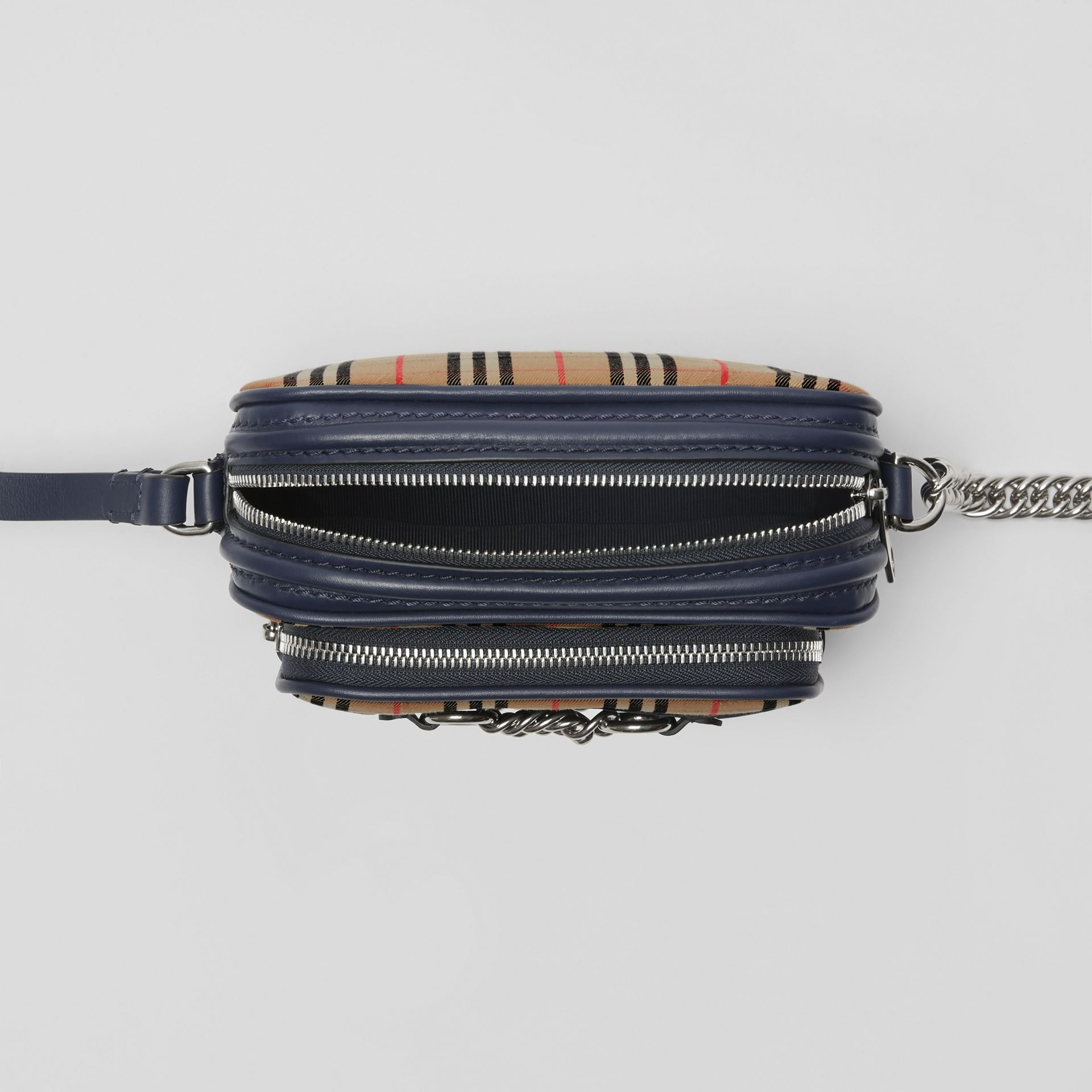 The Link Camera Bag im Karodesign (Tintenblau) - Damen | Burberry - Galerie-Bild 3