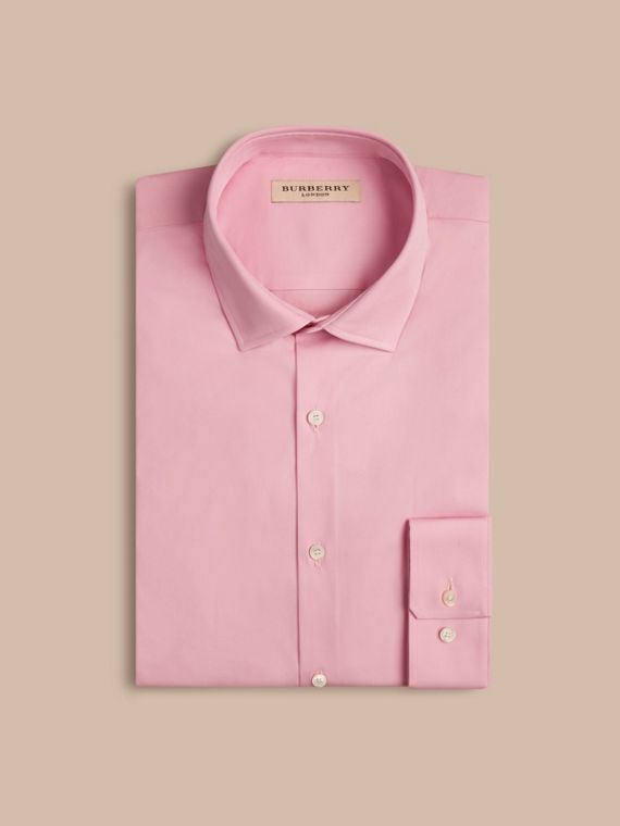Modern Fit Stretch Cotton Shirt - cell image 3