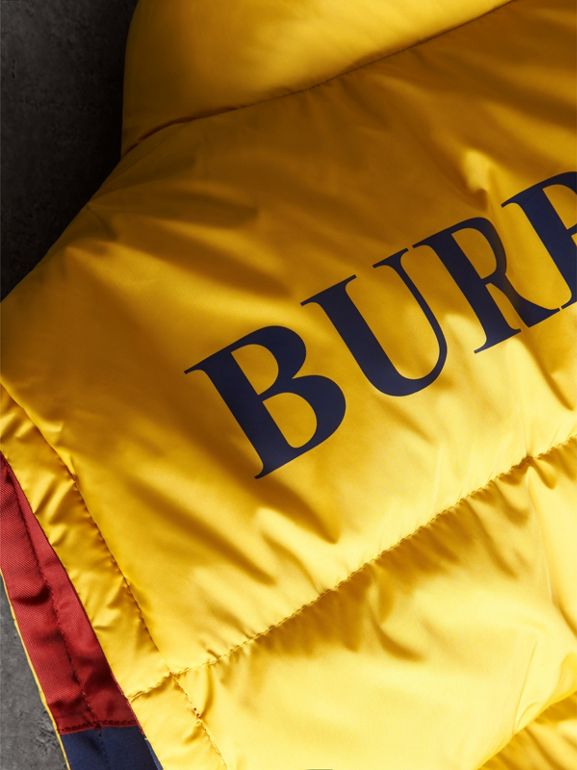 Colour Block Reversible Gilet in Navy - Men | Burberry - cell image 1