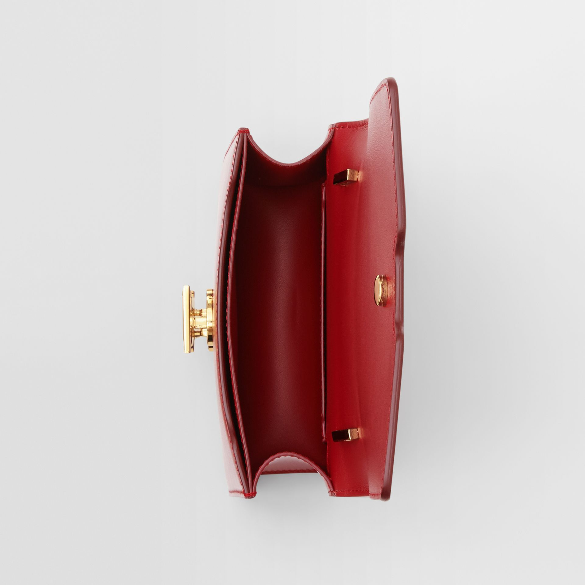 Mini Leather TB Bag in Dark Carmine - Women | Burberry Hong Kong S.A.R. - gallery image 4