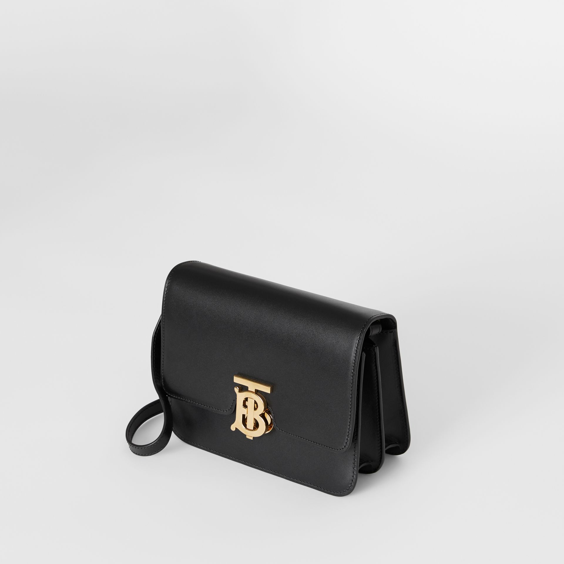 Small Leather TB Bag in Black - Women | Burberry - gallery image 2