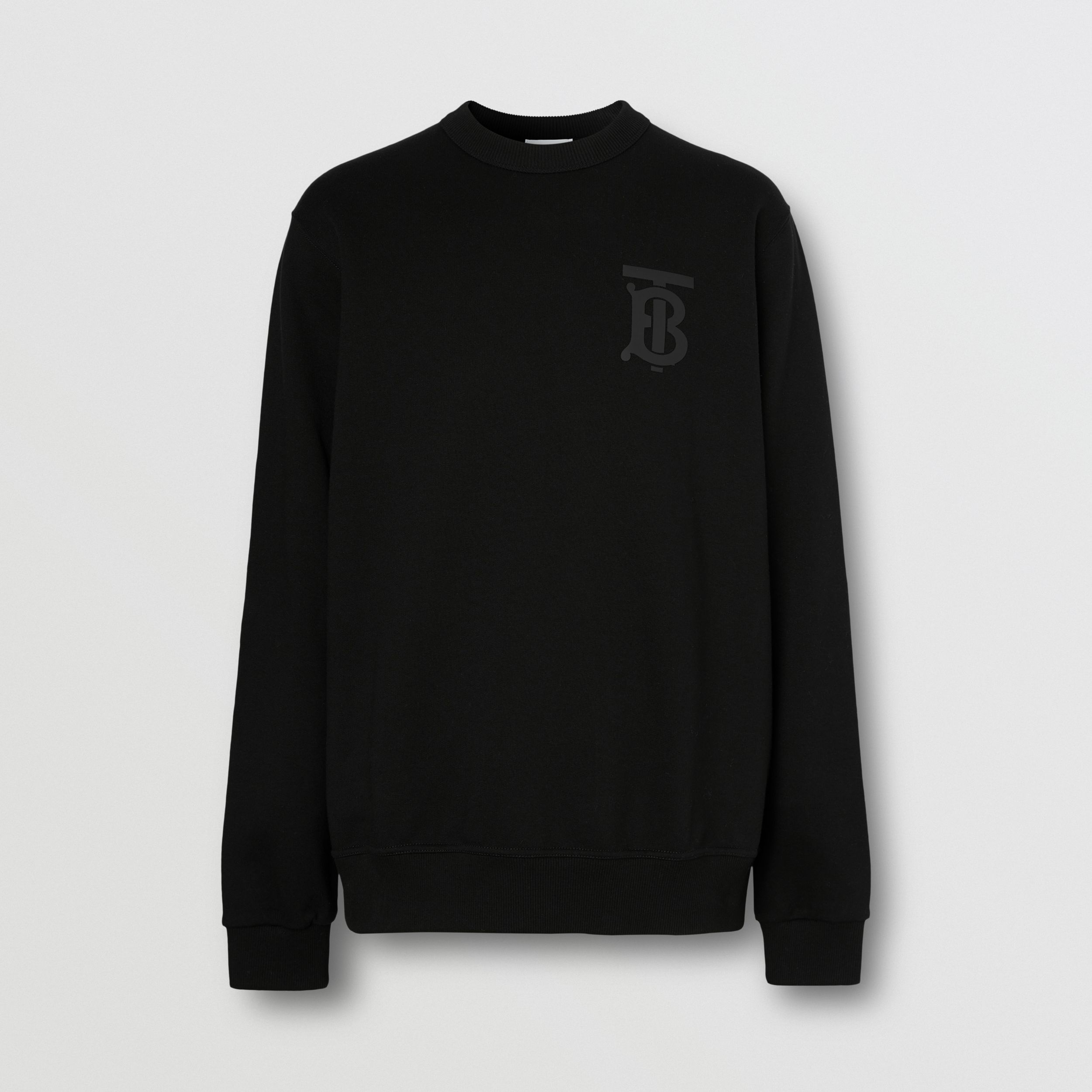 Sweat-shirt en coton Monogram (Noir) - Homme | Burberry - 4