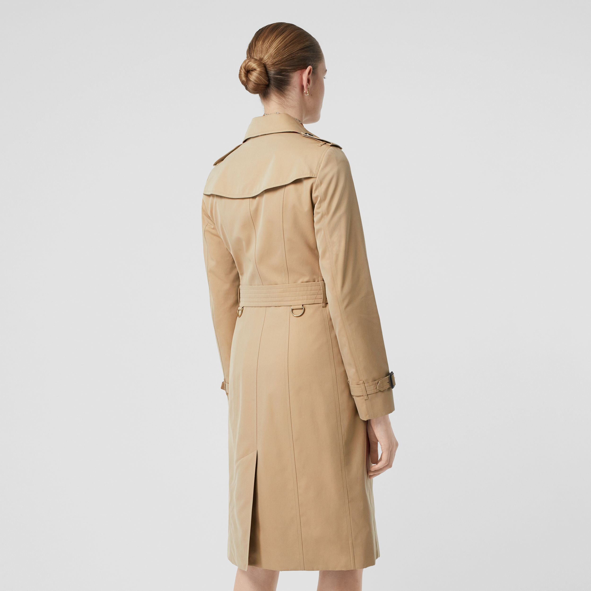 The Sandringham – Extra-long Trench Coat in Honey - Women | Burberry United States - 3