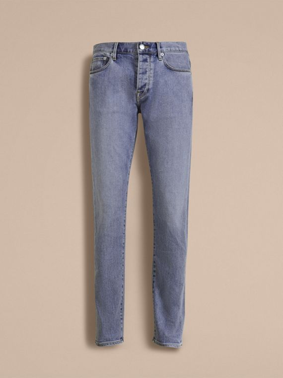 Relaxed Fit Stretch Jeans - Men | Burberry - cell image 3
