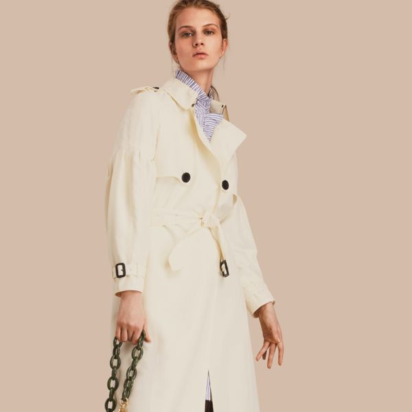 Women's seasonal trench coats