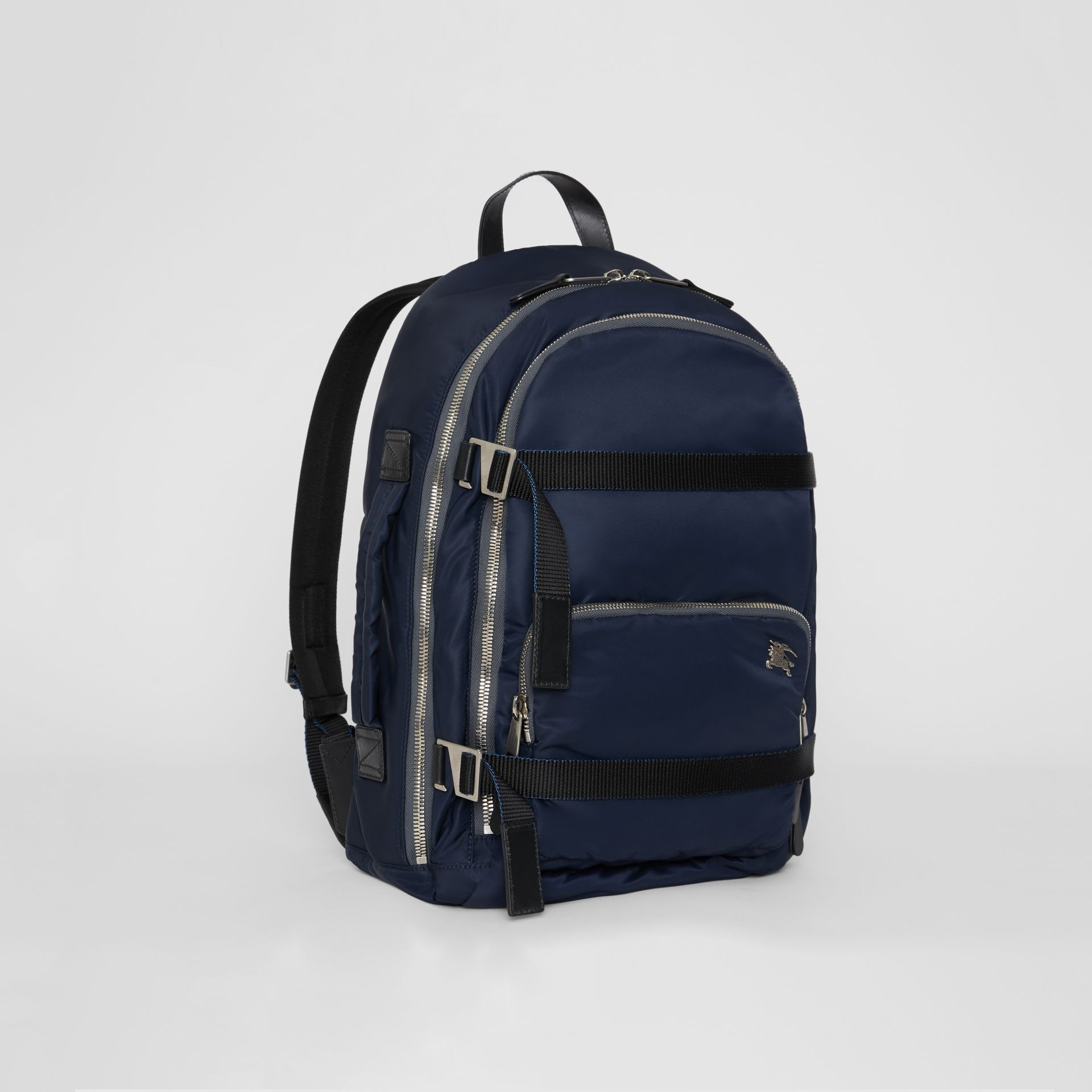 Large EKD Aviator Nylon Backpack in Ink Blue - Men | Burberry United States - gallery image 6