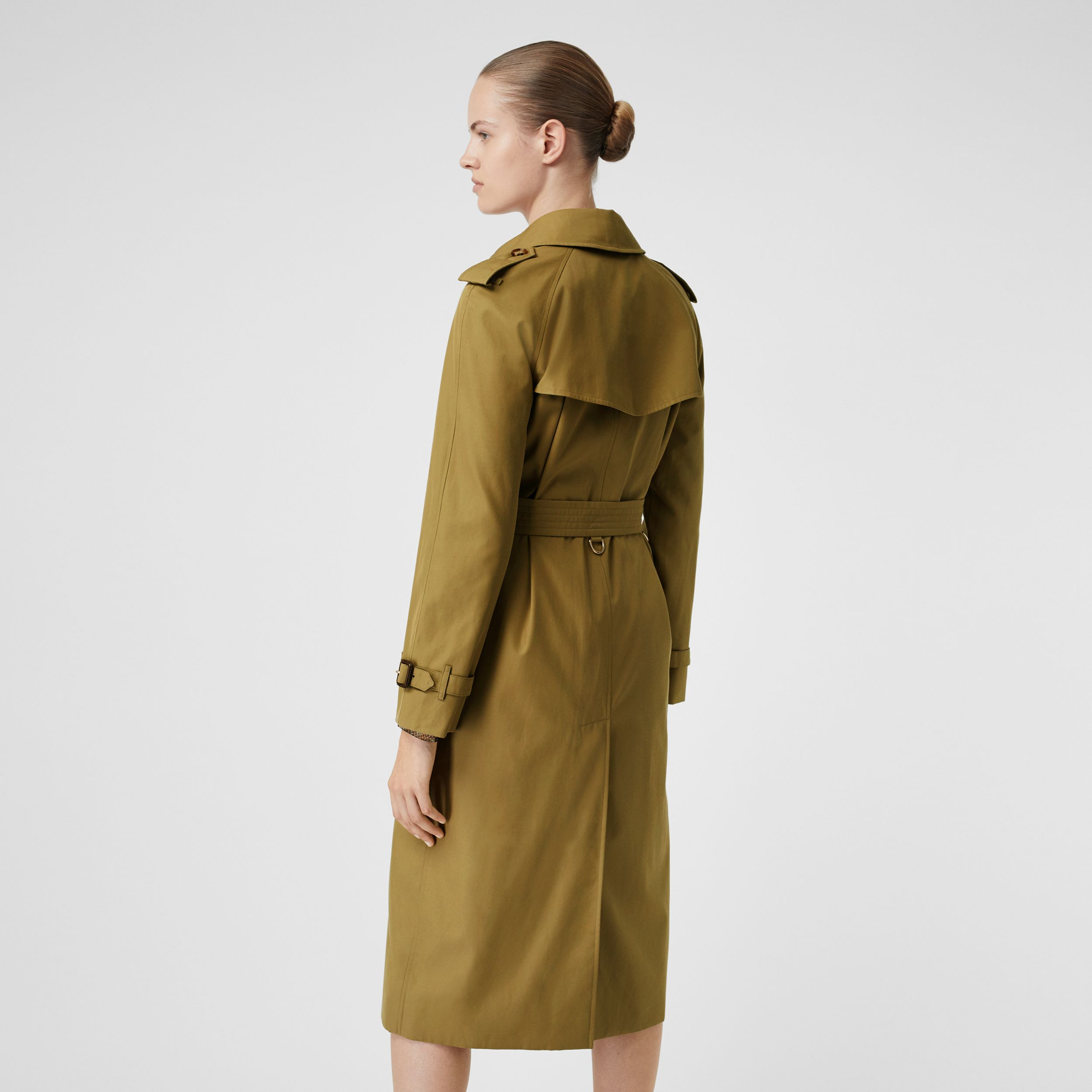 The Waterloo Trench Coat in Rich Olive - Women | Burberry - 3