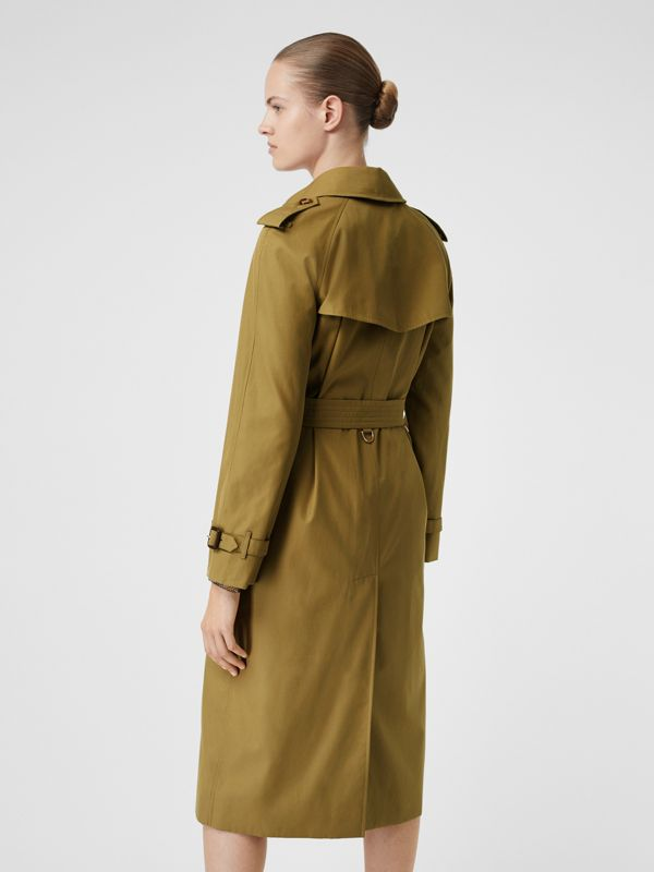 The Waterloo Trench Coat in Rich Olive - Women | Burberry United Kingdom - cell image 2