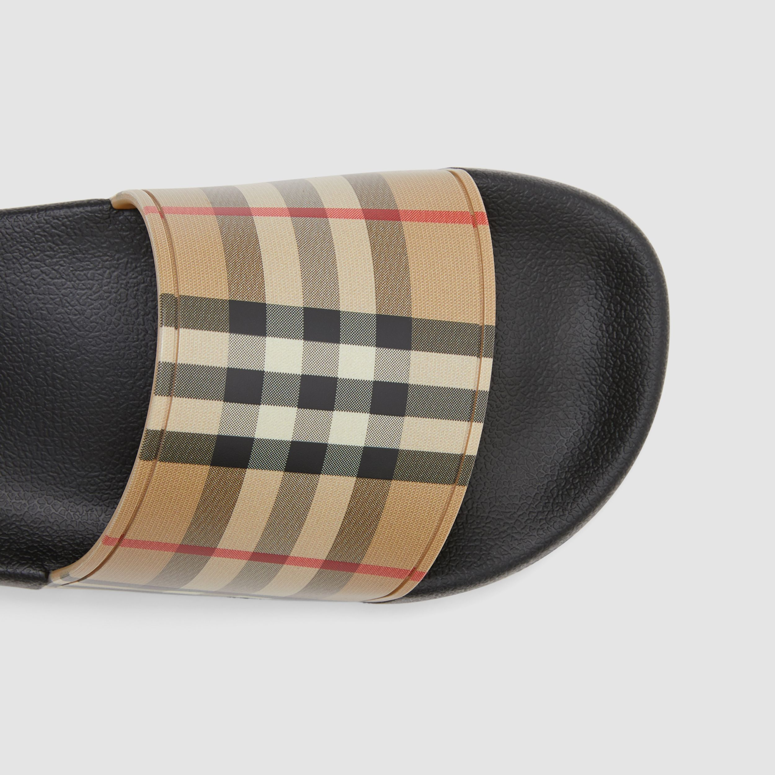 Vintage Check Slides in Archive Beige - Women | Burberry United Kingdom - 2