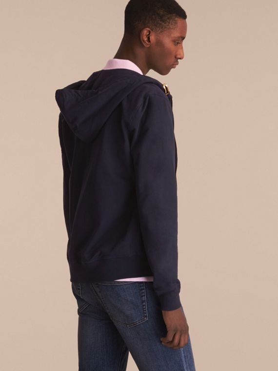Lightweight Cotton Hooded Top - cell image 2