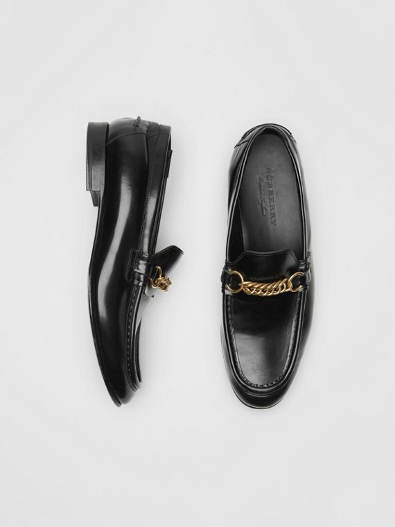 Mocassins The Link en cuir (Noir)