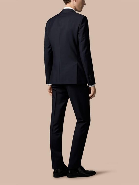 Vero navy Abito aderente in tre pezzi in lana e mohair con intelaiatura parziale - cell image 3
