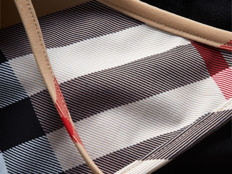 Bikini triangle à motif check - Femme | Burberry - cell image 1