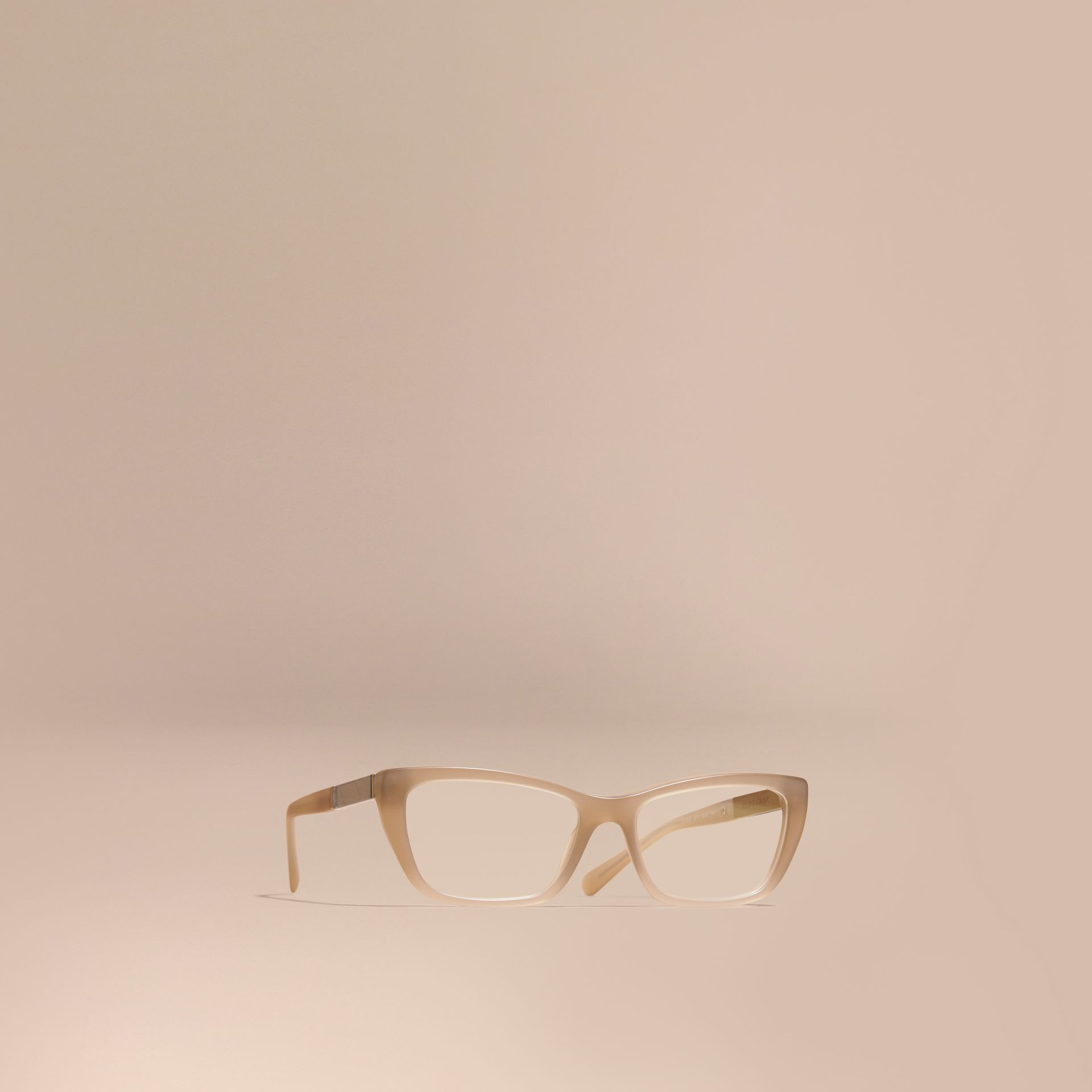 Chino grey Check Detail Rectangular Optical Frames - gallery image 1