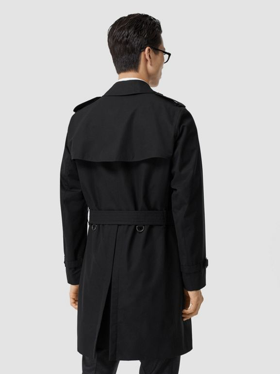 The Chelsea Heritage Trench Coat in Black - Men | Burberry Singapore - cell image 1