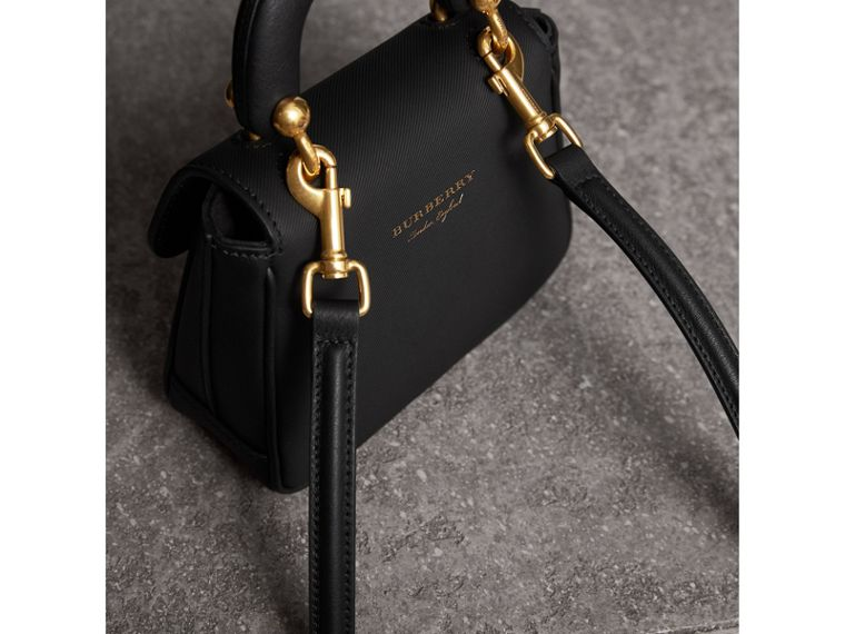 The Mini DK88 Top Handle Bag in Black - Women | Burberry - cell image 4