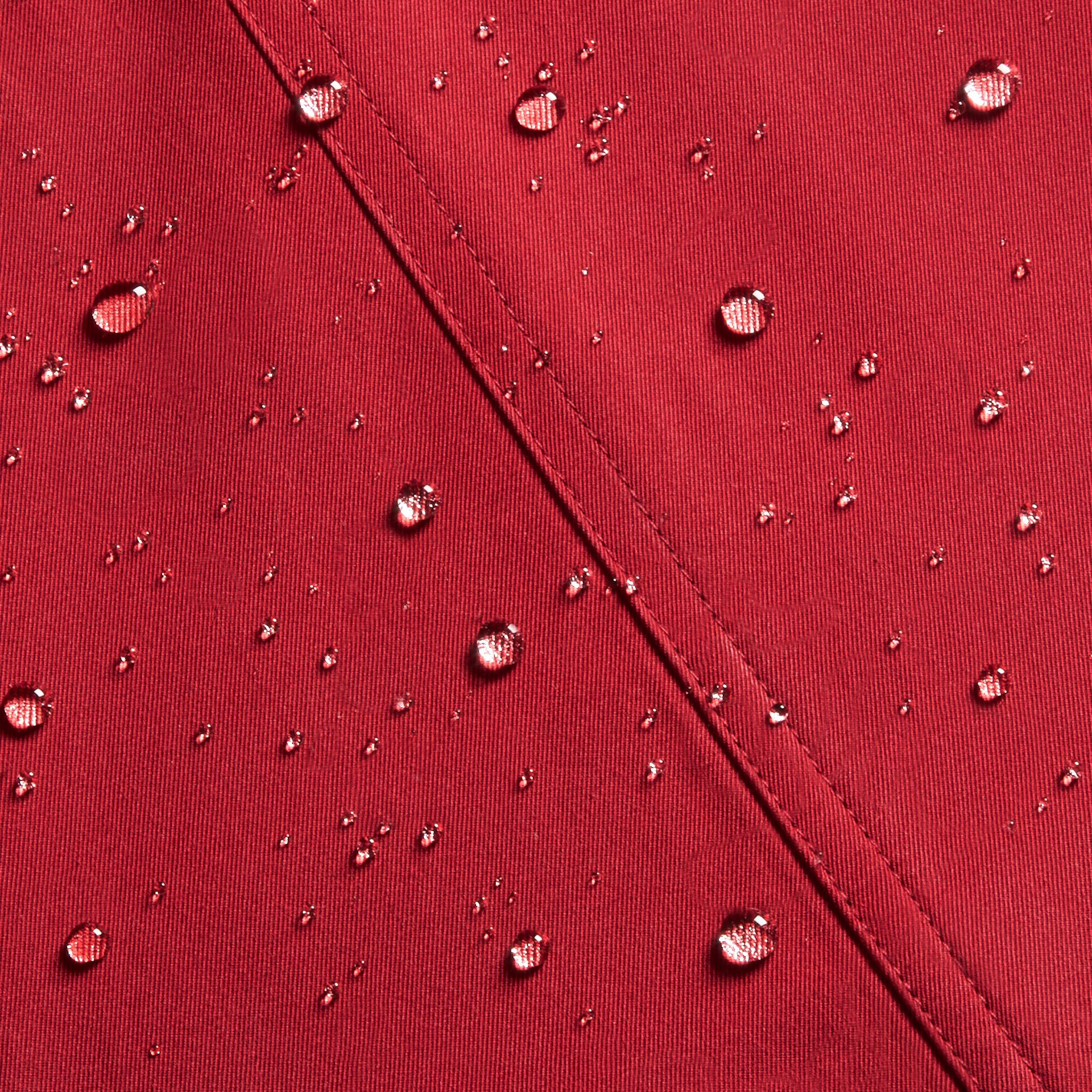 The Wiltshire – Heritage Trench Coat in Parade Red - gallery image 2