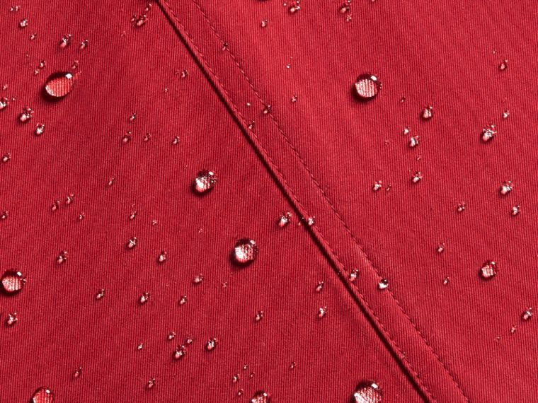 The Wiltshire – Heritage Trench Coat in Parade Red - cell image 1