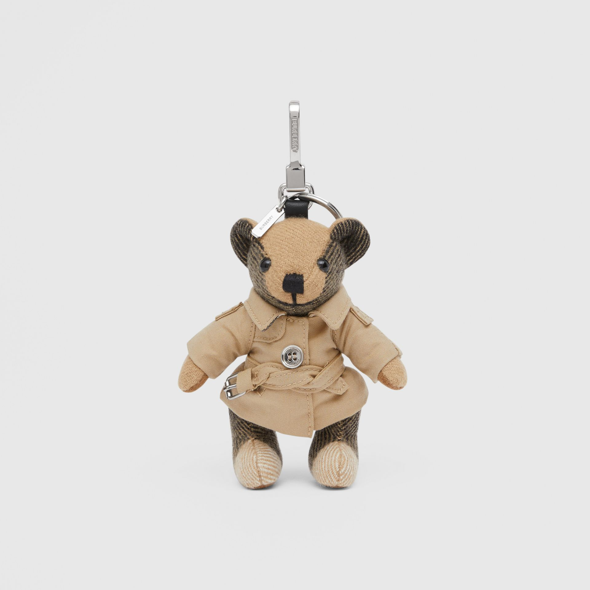 Thomas Bear Charm in Trench Coat in Archive Beige - Women | Burberry - gallery image 0