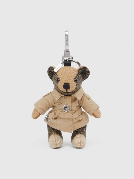 Adorno do Thomas Bear com trench coat (Bege Clássico)