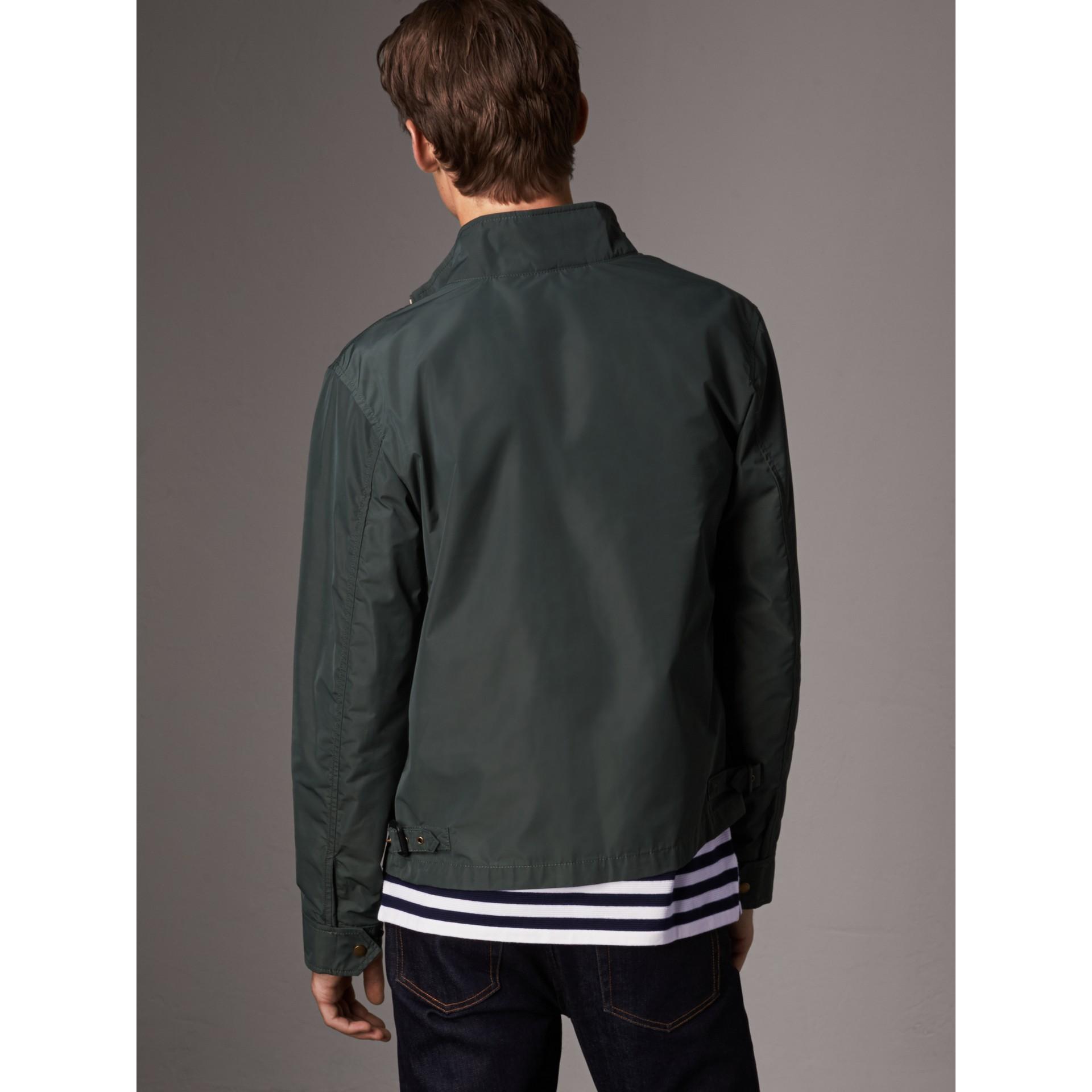 Lightweight Technical Jacket in Smokey Green - Men | Burberry United Kingdom - gallery image 3