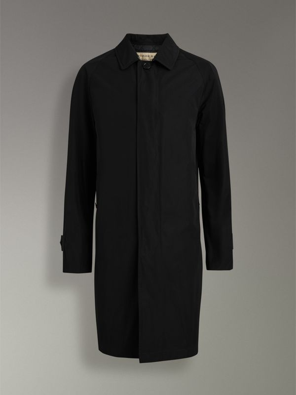 Shape-memory Taffeta Car Coat in Black - Men | Burberry Australia - cell image 3