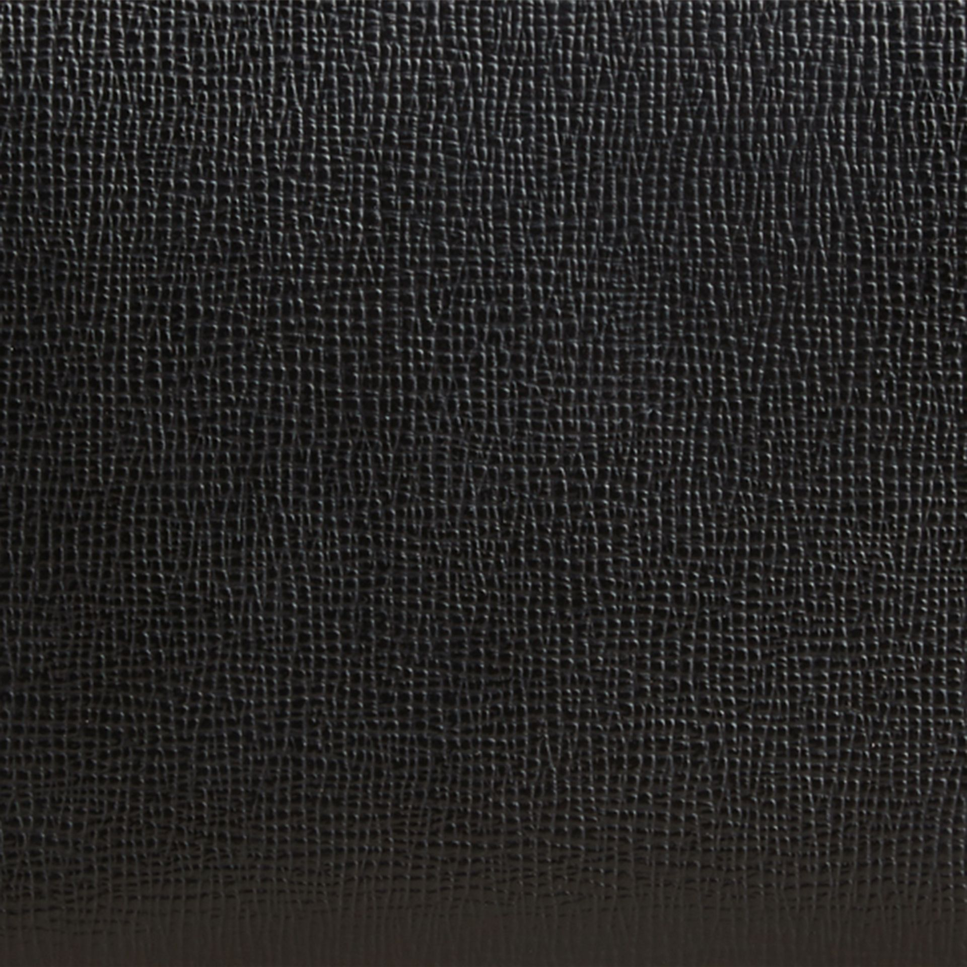 London Leather Ziparound Wallet Black - gallery image 2