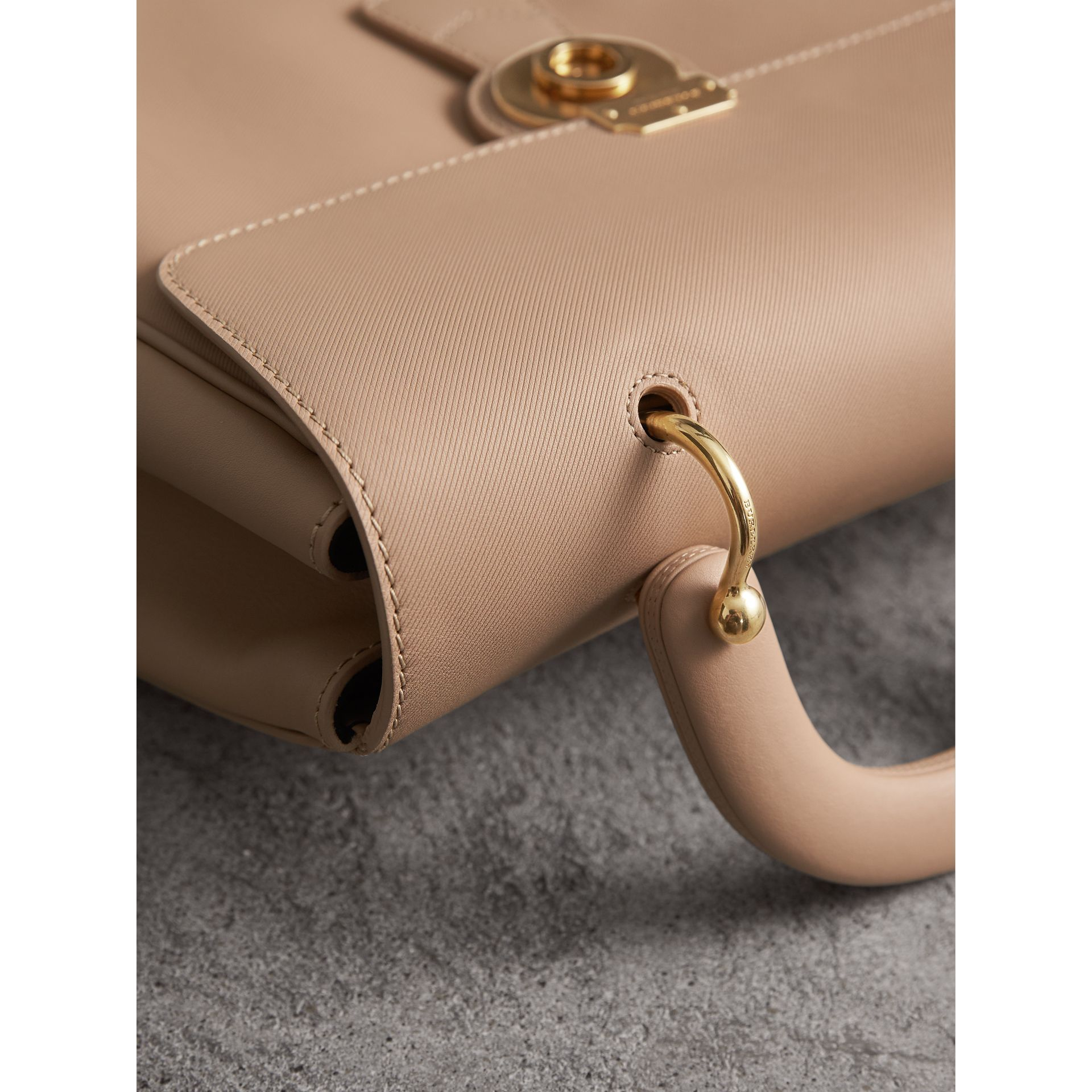 The Large DK88 Top Handle Bag in Honey - Women | Burberry - gallery image 6
