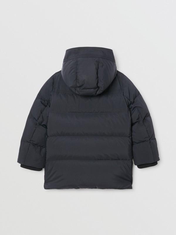 Casaco acolchoado com capuz removível (Preto) | Burberry - cell image 3