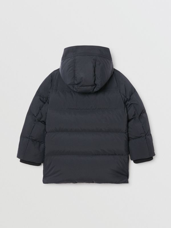 Пальто на пуху со съемным капюшоном (Черный) | Burberry - cell image 3